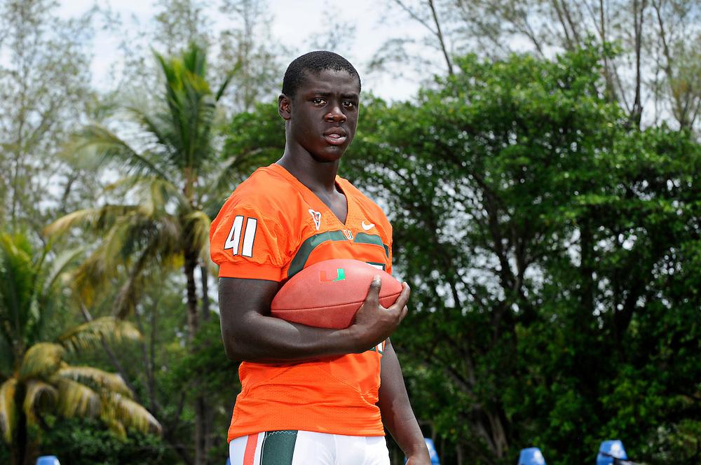 2012 Miami Hurricanes Football Photo Day