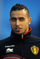 Football Fifa Brazil 2014 World Cup Matchs-Qualifier / Europe - Group A /<br /> Croatia vs Belgium 1-2  ( Maksimir Stadium - Zagreb , Croatia )<br /> Nacer CHADLI of Belgium , during the match between Croatia and Belgium