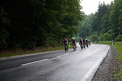 Floortje Mackaij (NED) in the lead group at Lotto Thuringen Ladies Tour 2018 - Stage 2, an 136 km road race starting and finishing in Meiningen, Germany on May 29, 2018. Photo by Sean Robinson/Velofocus.com