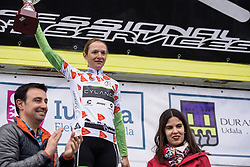 Doris Schweizer wins the mountains competition - Emakumeen Bira 2016 Stage 4 - A 76 km road stage starting and finishing in Portugalete, Spain on 17th April 2016.