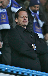 PORTSMOUTH, ENGLAND - SATURDAY, DECEMBER 9th, 2006: Vice Chairman David Chissick of Portsmouth during the Premiership match against Everton at Fratton Park. (Pic by Chris Ratcliffe/Propaganda)