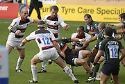 Reading, GREAT BRITAIN,  Open play,  during the EDF Energy Cup, rugby match, London Irish vs Saracens at the Madejski  Stadium, ENGLAND, 30/09/2006. [Photo, Peter Spurrier/Intersport-images].