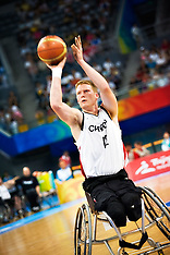 LONDON 2012 PARALYMPICS WHEELCHAIR BASKETBALL