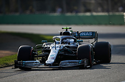 MELBOURNE, March 16, 2019  Mercedes' driver Valtteri Bottas competes during the Qualifying session of Formula 1 Australian Grand Prix 2019 at the Albert Park in Melbourne, Australia, March 16, 2019. (Credit Image: © Bai Xuefei/Xinhua via ZUMA Wire)