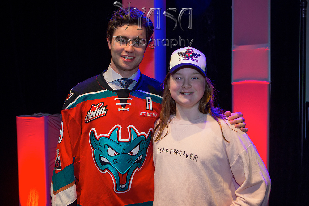 KELOWNA, CANADA - MARCH 18:  Family & Billets at the Kelowna Rockets Awards Ceremony on March 18, 2018 at The Kelowna Community Theatre  in Kelowna, British Columbia, Canada.  (Photo By Cindy Rogers/Nyasa Photography,  *** Local Caption ***