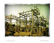 power lines station