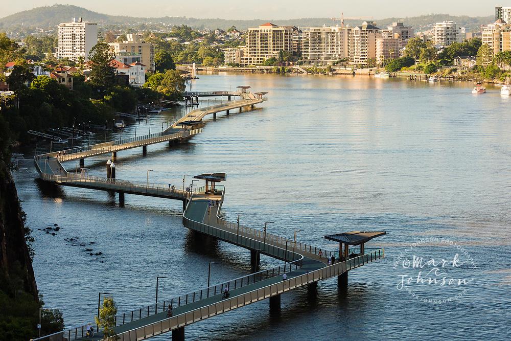 Brisbane River Walk, Brisbane, Queensland, Australia