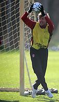Photo: Paul Thomas.<br />Manchester United training session. UEFA Champions League. 06/03/2007.<br />Man Utd's