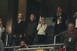 May 24, 2017 - Stockholm, Sweden - Helena Seger, Maximilian Ibrahimovic, Vincent Ibrahimovic, Alexander Östlund..UEFA Europa League Final, Ajax - Manchester United, Stockholm, 2017-05-24..(c) Patrik C Österberg / IBL (Credit Image: © Patrik C ÖSterberg/IBL via ZUMA Press)