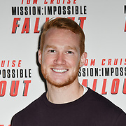 Greg Rutherford launches Mission: Impossible - Fallout - Long Jump, London, UK