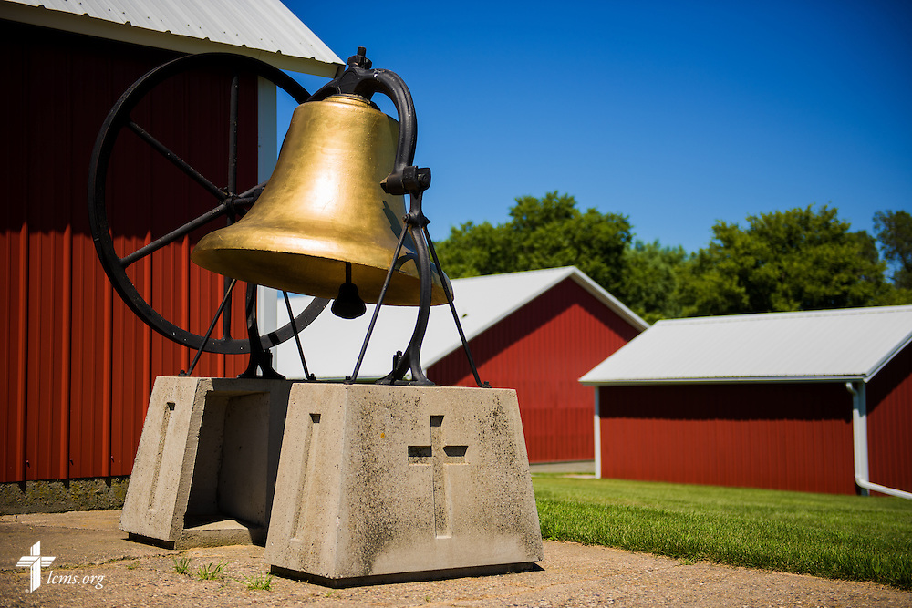 The church bell at Mission Central on Saturday, July 18, 2015, in Mapleton, Iowa. LCMS Communications/Erik M. Lunsford