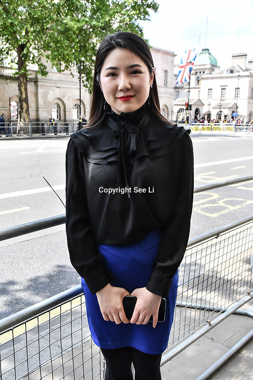 Ms Qin is from China representative attend International Day of United Nations Peacekeepers - Remembrance Ceremony, on 23 May 2019, London, UK.