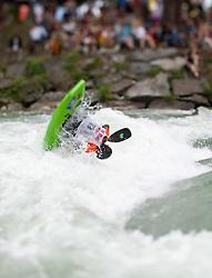 18.06.2010, Drauwalze, Lienz, AUT, ECA Kayak Freestyle European Championships, im Bild Feature Fresstyle Kajak, Myllynen Harri, FIN, Men, #20, EXPA Pictures © 2010, PhotoCredit: EXPA/ J. Feichter / SPORTIDA PHOTO AGENCY