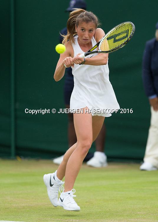 Annika Beck (GER)<br /> <br /> Tennis - Wimbledon 2016 - Grand Slam ITF / ATP / WTA -  AELTC - London -  - Great Britain  - 29 June 2016.
