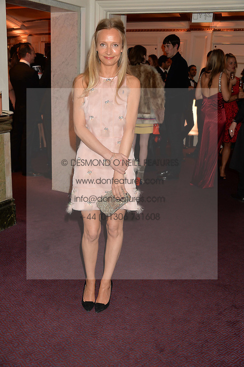 MARTHA WARD at The Backstage Gala hosted by Diana Vishneva , Principal Dancer of the Mariinsky and American Ballet Theatre, and Natalia Vodianova in aid of The Naked Heart Foundation held at The London Coliseum, St.Martin's Lane, London on 17th April 2015.