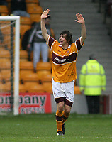 Photo: Paul Thomas.<br /> Motherwell v Glasgow Celtic. Bank of Scotland Scottish Premier League. 30/12/2006.<br /> <br /> Darren Smith of Motherwell celebrates his goal which made it 1 -1, right on full -time.