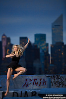 New York City Skyline Rooftop Ballet with dancer Lane Botha- Dance As Art- The New York Photography Project