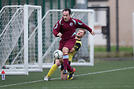 Dundee Saturday Morning Football League sides Dryburgh (claret and light blue) and Menziehill (yellow and black) in friendly action at DISC, Dundee<br /> <br /> <br />  - &copy; David Young - www.davidyoungphoto.co.uk - email: davidyoungphoto@gmail.com