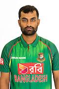Tamim Iqbal, Bangladesh cricket team headshots ahead of their New Zealand tour. Cobham Oval, Whangarei. 21 December 2016. Copyright Image: Heath Johnson / www.photosport.nz