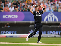 Cricket - 2019 ICC Cricket World Cup - Group Stage: New Zealand vs. South Africa<br /> <br /> New Zealand's Matt Henry in action today during the ICC Cricket World Cup match between New Zealand and South Africa, at Edgbaston, Birmingham.<br /> <br /> COLORSPORT/ASHLEY WESTERN