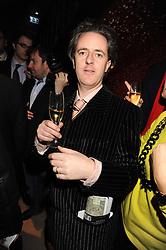Artist ADAM DANT at a party to celebrate the 10th birthday issue of Spears Wealth Management Survey held at Molton House, South Molton Street, London on 25th November 2008.