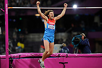 LONDON OLYMPIC GAMES 2012 - OLYMPIC STADIUM , LONDON (ENG) - 07/08/2012 - PHOTO : POOL / KMSP / DPPI<br /> ATHLETICS - MEN'S HIGH JUMP - GOLD MEDAL - IVAN UKHOV (RUS)