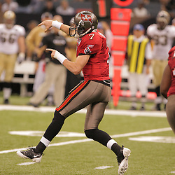 2008 September 7: Quarterback Jeff Garcia (7)of the Tampa Bay Buccaneers in action against the New Orleans Saints at the Louisiana Superdome in New Orleans, LA.