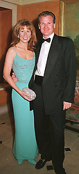 The HON.AURELIA CECIL and her fiance MR RUPERT <br /> STEPHENSON at a party in London on 9th May 2000.ODR 2