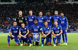Leicester City team group - Mandatory by-line: Matt McNulty/JMP - 27/09/2016 - FOOTBALL - King Power Stadium - Leicester, England - Leicester City v FC Porto - UEFA Champions League