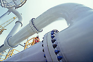 HP separator on FPSO offshore, Angola.