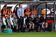 2nd Aug 2019, East End Park, Dunfermline, Fife, Scotland, Scottish Championship football, Dunfermline Athletic versus Dundee;  Dunfermline Athletic manager Stephen Crawford