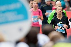 Katja Pajnic during 19th Ljubljana Marathon 2014 on October 26, 2014 in Ljubljana, Slovenia. Photo by Urban Urbanc / Sportida.com