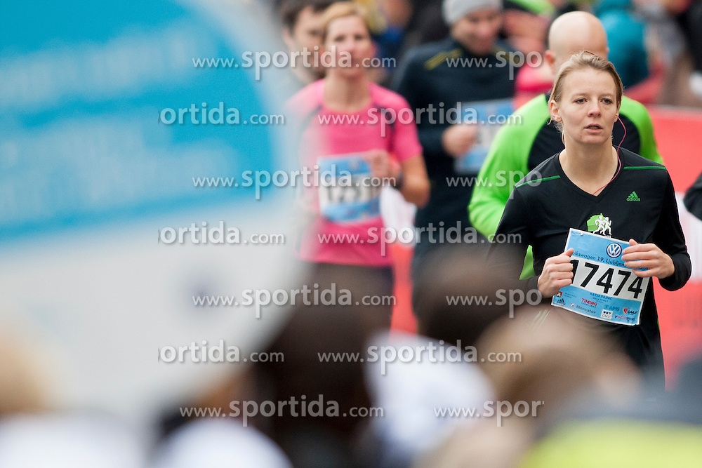 Katja Pajnic during 19th Ljubljana Marathon 2014 on October 26, 2014 in Ljubljana, Slovenia. Photo by Urban Urbanc / Sportida.com