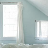 Moody bedroom window.