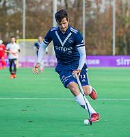 AMSTELVEEN - Agustin Bugallo (Pinoke)   tijdens de competitie hoofdklasse hockeywedstrijd heren, Pinoke-Amsterdam (1-1)   COPYRIGHT KOEN SUYK