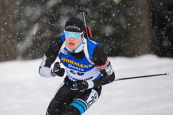 March 9, 2019 - –Stersund, Sweden - 190309 Rene Zahkna of Estonia competes in the Men's 10 KM sprint during the IBU World Championships Biathlon on March 9, 2019 in Östersund..Photo: Petter Arvidson / BILDBYRÃ…N / kod PA / 92252 (Credit Image: © Petter Arvidson/Bildbyran via ZUMA Press)