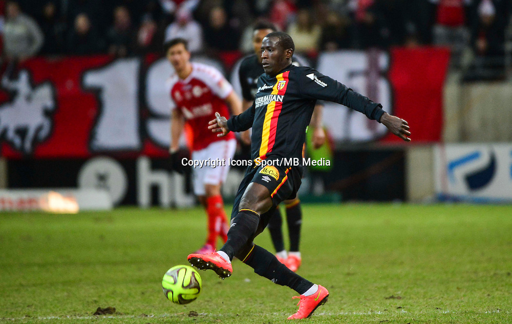 Adamo COULIBALY - 25.01.2015 - Reims / Lens  - 22eme journee de Ligue1<br /> Photo : Dave Winter / Icon Sport *** Local Caption ***
