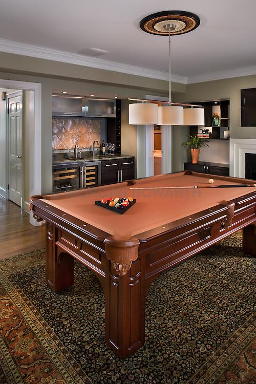 214 Lee Alexandria Virginia Pool Room by Designer Dolly Howarth
