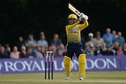 Hampshire wicketkeeper-batsman Adam Wheater during the NatWest T20 Blast South Group match between Middlesex County Cricket Club and Hampshire County Cricket Club at Uxbridge Cricket Ground, Uxbridge, United Kingdom on 27 May 2016. Photo by David Vokes.