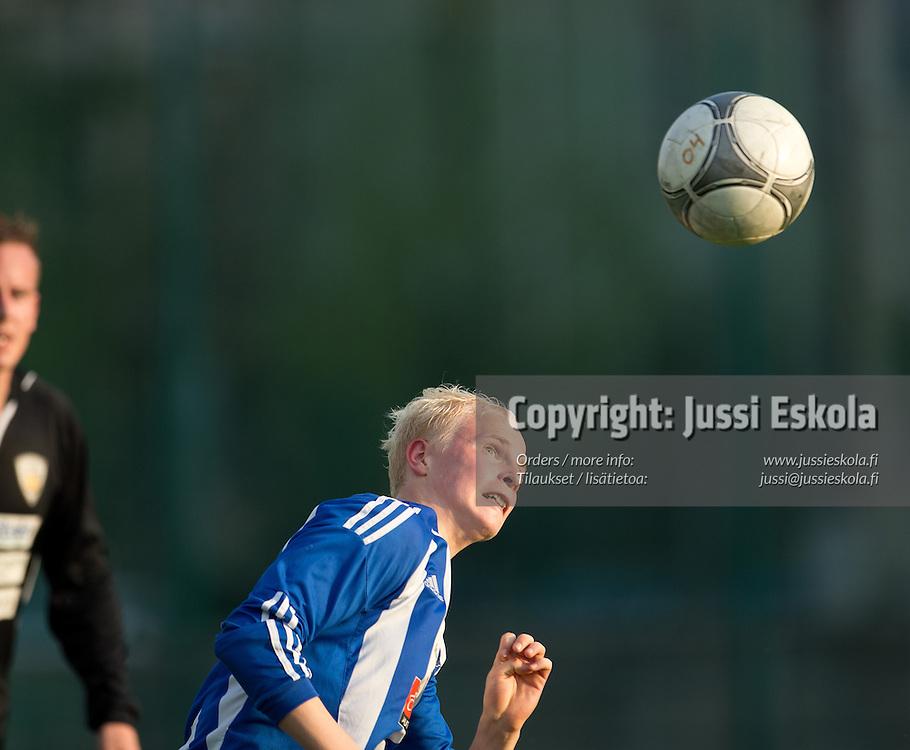 Alex Antikainen. Klubi 04 - KäPa. Kakkonen. Helsinki 19.5.2013. Photo: Jussi Eskola