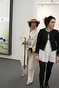 BIANCA JAGGER, Frieze 2016, Regent's Park. London,