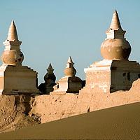 Heicheng (The Black City) the ancient city of Xixia . Inner Mongolia, China<br /> Photo: Bernardo De Niz