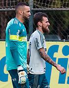 31.05.2018 - SÃO PAULO, SP - O jogador Lucas Lima do Palmeiras, durante treino na Academia de Futebol da Barra Funda, na Zona Oeste da capital paulista na tarde desta quinta-feira 31. ( Foto: Marcelo D. Sants / FramePhoto )