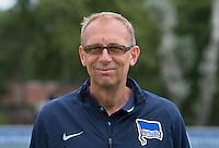German Soccer Bundesliga 2015/16 - Photocall of Hertha BSC Berlin on 10 July 2015 in Berlin, Germany: team-doctor Ulrich Schleicher