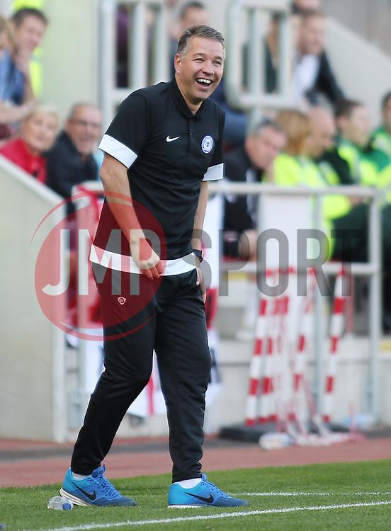 Peterborough United Manager, Darren Ferguson  - Photo mandatory by-line: Joe Dent/JMP - Tel: Mobile: 07966 386802 28/09/2013 - SPORT - FOOTBALL - New York Stadium - Rotherham - Rotherham United V Peterborough United - Sky Bet One