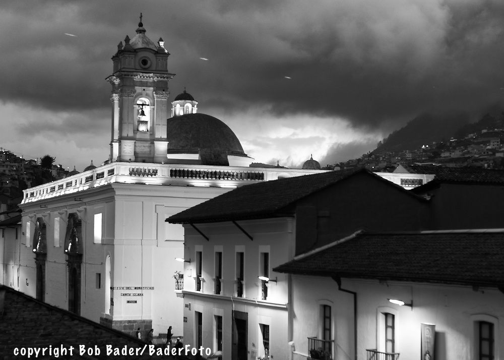 Images of Quito's old city
