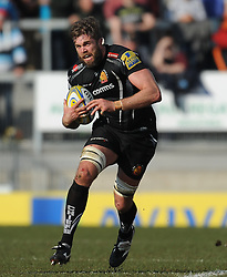 Geoff Parling of Exeter Chiefs.  - Mandatory byline: Alex Davidson/JMP - 12/03/2016 - RUGBY - Sandy Park -Exeter Chiefs,England - Exeter Chiefs v Newcastle Falcons - Aviva Premiership