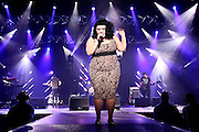Frankfurt am Main | 29.11.2010..British pop, rock and soul singer Beth Ditto with her Band Gossip live on stage at the Jahrhunderthalle in the german city of Frankfurt...©peter-juelich.com..[No Model Release | No Property Release]
