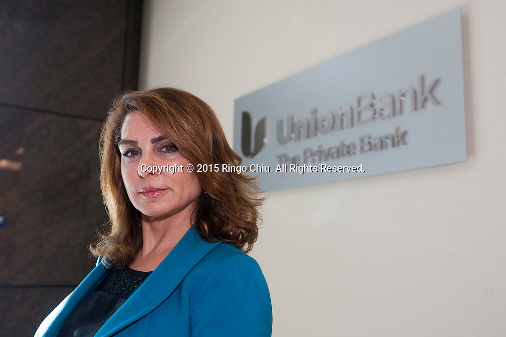 Bita Ardalan of Union Bank. (Photo by Ringo Chiu/PHOTOFORMULA.com)