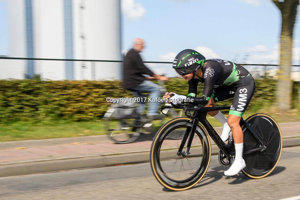 31-08-2017: Wielrennen: Boels Ladies Tour: Roosendaal<br /> Anouska Koster